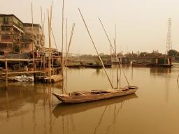 the fishing village